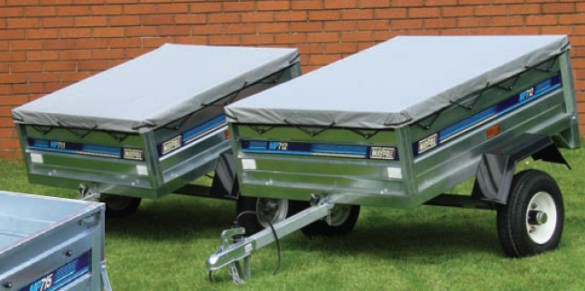 car towing trailers