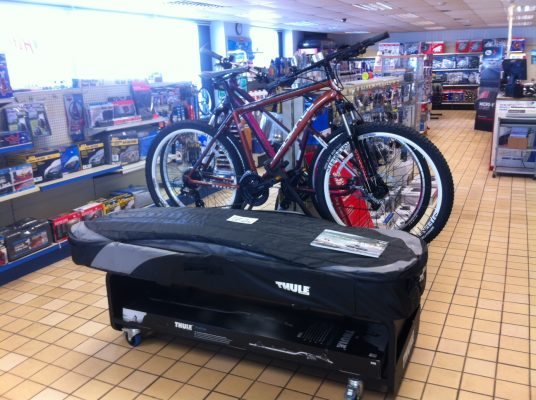 Thule Top Box & Cycle Carrier