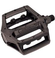black bmx alloy pedals