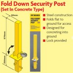 Security posts for your car and trailer