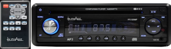 inphase car stereos mp3