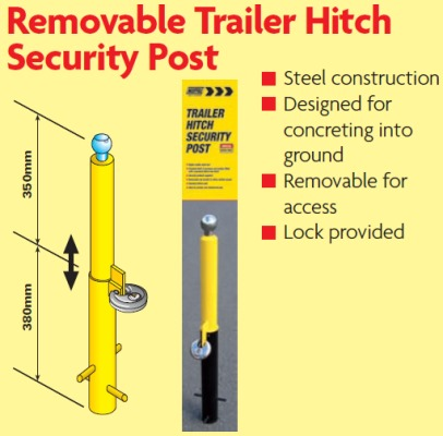 trailer security posts