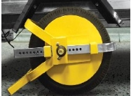 Full Face Wheel Clamp -8in-10in For Trailers