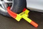 wheel-clamp