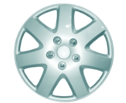 alloy look wheel trims