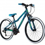 Cuda Kinetic 24″ Mountain Bike Dark Blue/Neon Green Boys Bike
