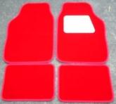 red velour car mats