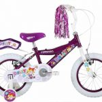 Bumper Dolly Girls Bike Purple/White