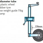 trailer jockey wheels trailr accessories