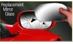 replacement wing mirror glass