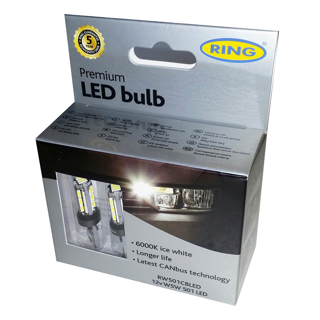 ring led sidelight bulb