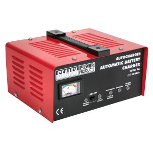 autocharge6 sealey battery charger