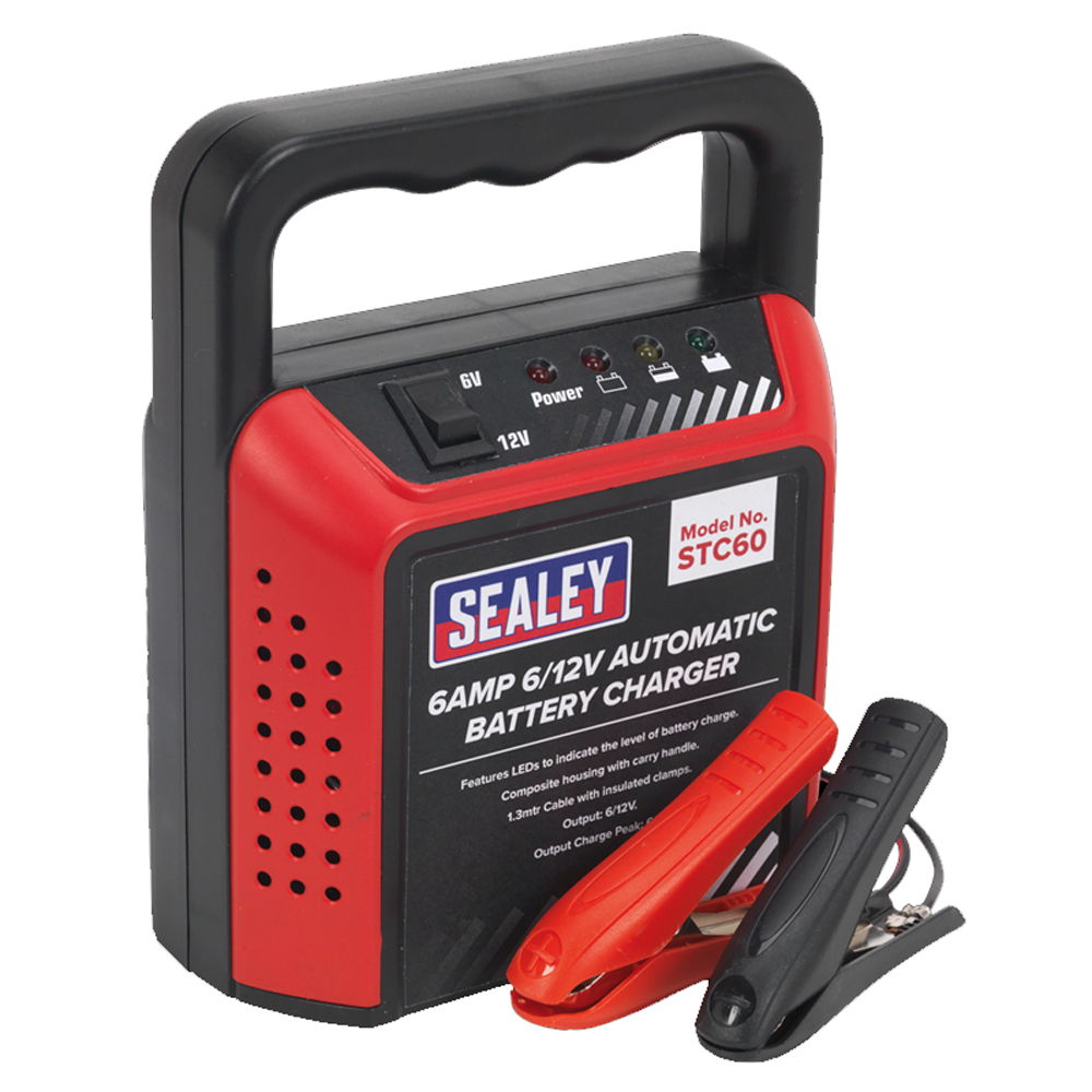 sealey 6amp battery charger