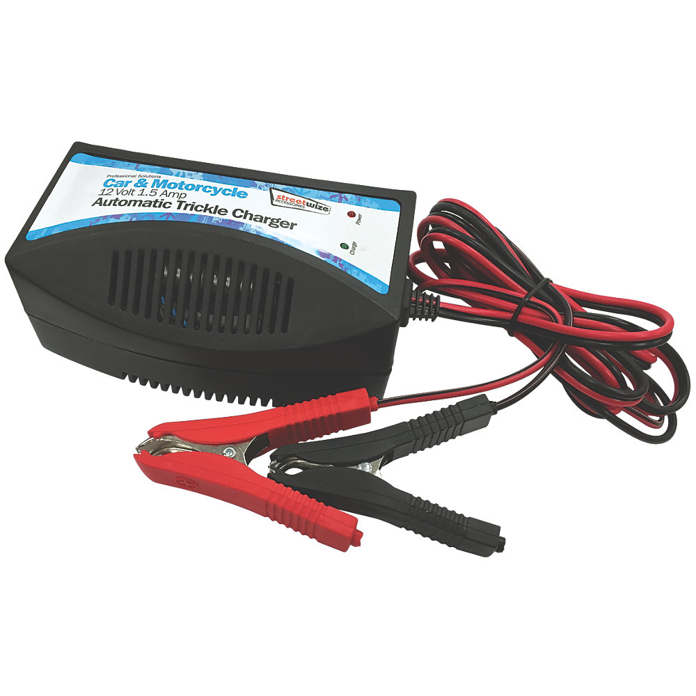 1.5A 6//12V MAINTENANCE SMART BATTERY CHARGER AGM free for car motorcycle