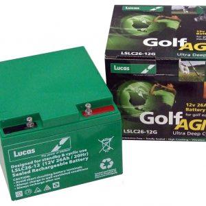 27 Hole golf battery
