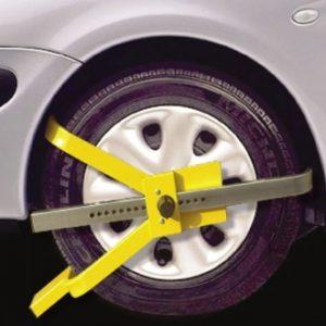 cross face wheel clamp