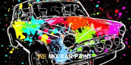 mix car paint