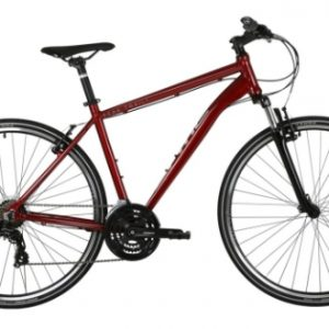 peaktrail mens hybrid bike