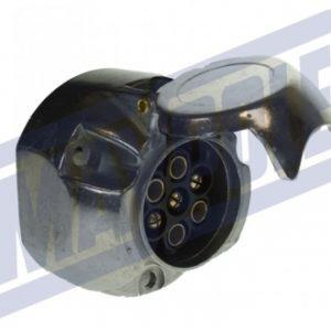 7-pin-aluminium-socket
