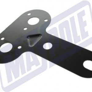 double socket mounting-plate