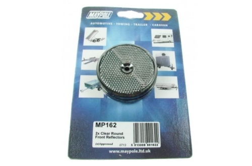 Clear Front Round Reflector