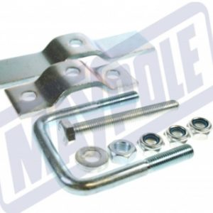 trailer spare wheel clamp