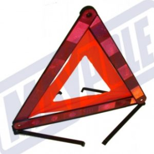 road warning triangle