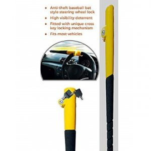 baseball steering wheel lock
