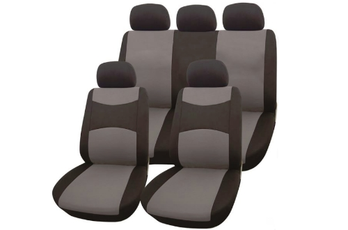 black-grey-seat-cover-set
