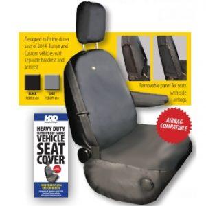 transit custom driver seat cover