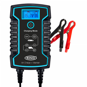 8A Smart Charger and Battery Maintainer